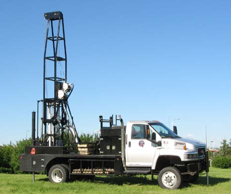 All Service Drilling - Truck Mounted Charden 600 4X4
